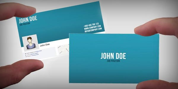 60 modern business cards to make a killer first impression facebook profile design for modern business card colourmoves