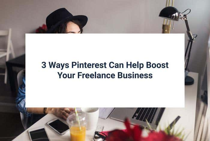 pinterest freelance business boost