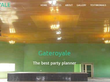 We are team of expert that provide prompt solutions to our clients This is one of our client's website gateroyale.com