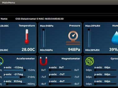 Raspberry pi  Application to log data from multiple BLE sensors. Windows IOT, QT