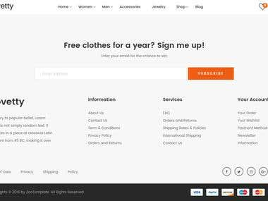 Magento 2 installation with Novetty theme with Demo Data  https://furbirds.com/index.php