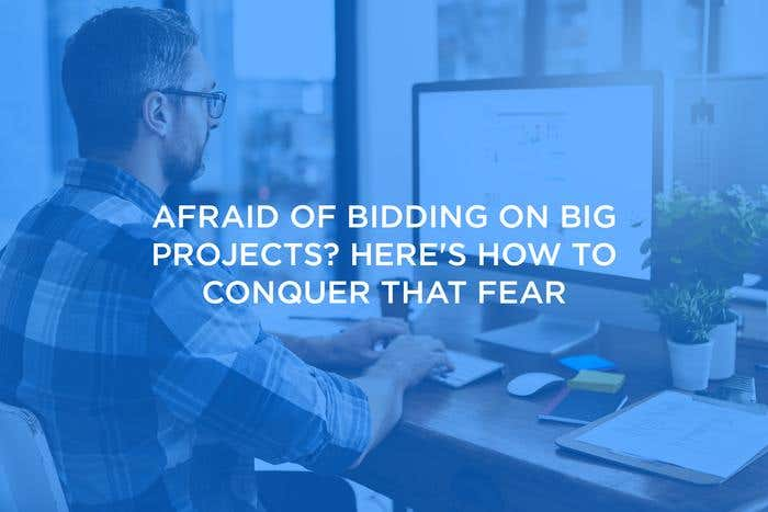 bidding tips for big projects