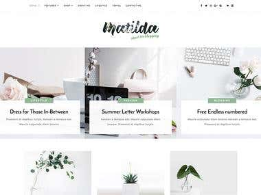 Matilda is a website template coded with Bootstrap 4 framework, HTML5 and CSS.  You can check live preview here : http://html.design/demo/matilda/index.html
