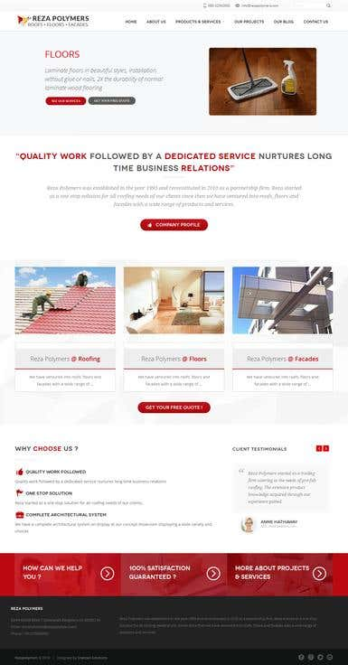 Reza Polymers - Wordpress
