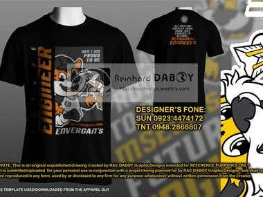 College of Engineering - Proposed Batch Shirt