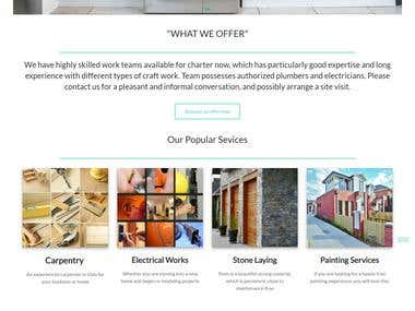 Sample layout , it can be made for any website