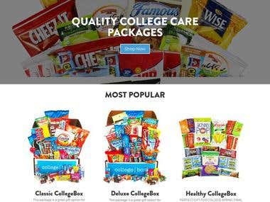 At CollegeBox they produce and sell high quality care packages that make the perfect gift for just about anyone.