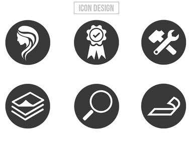 Hello,  I will design your icon for the app, website, etc.  I have more than 4+ years work experience and professional skills.  My gig includes:  1: Source file, PNG, JPG 2: High resolution ; 3: Short time delivery.  You are in the right place Enjoy work with me.