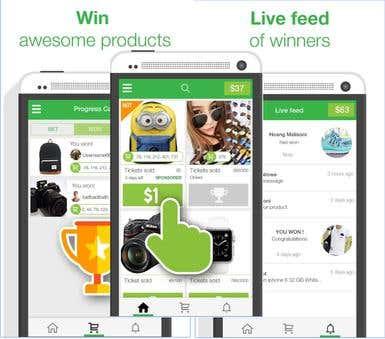 OneDollar Item Bidding Mobile App