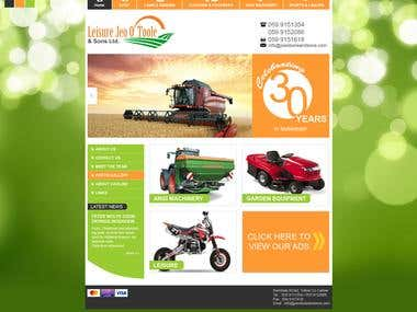 Techology used: HTML5, CSS3, PHP, Template Design