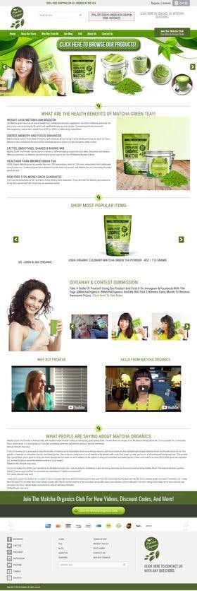 Matcha Organics - E-commerce Website