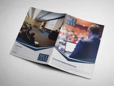Brochure Design for Mice Guys