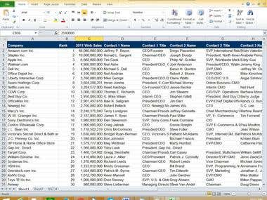 I can input data from PDF file to Excel without any single error. I have done huge project of PDF to Excel project.