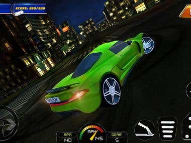 Hop in your muscle-car or sports-car and get ready to speed! Race your opponents and drift like a pro. Speed through the luminous New York City on highways and bridges. Use realistic driving controls and interface display. Use special moves for each track: swerve, brake, or pedal to the metal! Evade and maneuver around a variety of obstacles like traffic cones and passing trucks. Choose from many different beautiful tracks of the city during the nighttime, or a clear blue sky in the daylight. Embrace the skyscrapers and wonders of NYC!  There is only one rule: the more you drift, the more rewards you get! Complete thrilling missions and compete with your rivals. Use points to upgrade your car. Pick your favorite car from the garage, all with detailed and unique colors and design. Improve your drifting skills and earn points to customize. Sharpen your coordination and racing skills!  Be FAST, be FURIOUS, and have FUN!