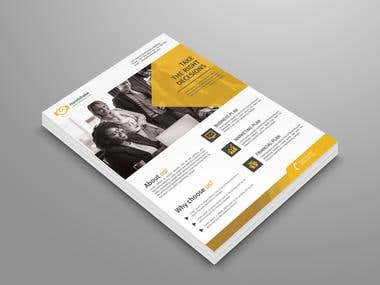 """PSD Files  Easy Customizable and Editable  Flyer Design in 8.5""""x 11""""   Bleed Setting (0.25 inch)  CMYK Color  Design in 300 DPI Resolution   Print Ready Format  Convert to smart object"""