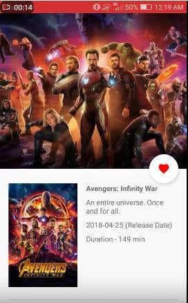 Discover New Movies and top rated ones, manage your favorite movies and more !  watch demo on youtube: https://www.youtube.com/watch?v=GRxBnXAjurs
