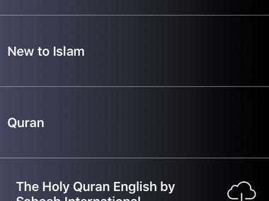 First Islamic library platform that is fully compatible with the iPhone Voice Over feature for the visually impaired. The Islam By Touch App is full of E-Books about Islam including the English translation of the Quran. This App is made has a very simple display which makes reading books very easy for everyone!  • IBT has been completely redesigned to to make it fully compatible with the iPhone Voice Over feature  • IBT App is specifically made for the visually impaired making it easy for users to invert the color and make the font extra big  • The new Book Store makes it easy to read and discover new books • The App is 100% FREE • This App makes it very easy for users to bookmark and favorite lines in the book they are reading and it is 100% compatible with the Voice Over rotter  • The App has the option to display white text on a black background or black text on a white background • This App is user friendly, and is enabled with large buttons and text