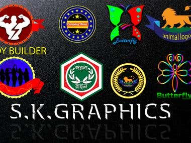 various kinds of custom logo