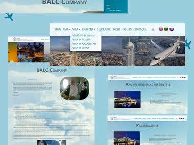 corporate airline website