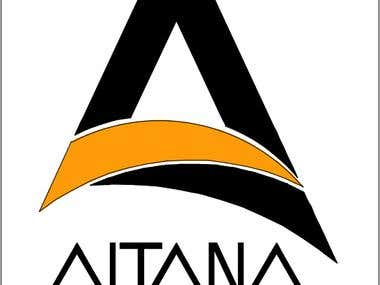 """This is the logo which I designed using AutoCAD . The name is """"Altana"""" which is a loggia and a belvedere (covered roof terrace) which is often full of flowers.  This Logo and Image portrays the following characteristics :  a. Modern b. Young and Active d. Luxury and Elegance"""