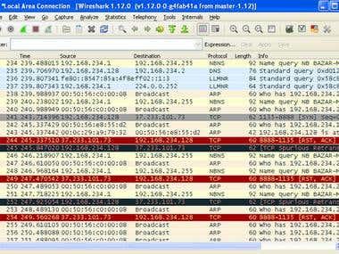 Malware Network Traffic Analysis has been done using wire-shark during malware analysis.
