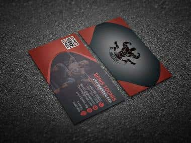 It's a very professional print ready and eye catching business card design.