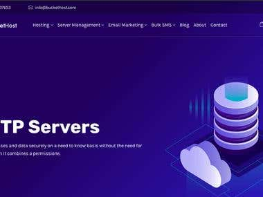 I working on Buckethost server for 3 years and manage all the security and server optimizations. I increase its performance and make it secure from unwanted sources.