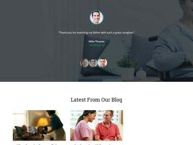 Dynamic Websites with powerful admin panel and custom integration with other tools.