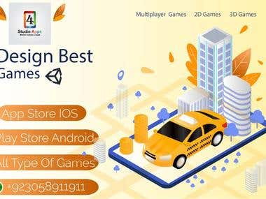 We are here to provide you our best service on game development and will facilitate you in Game Development, Game designing ,Game Modeling , 3D Game Models and so on. If you want a nice multiplayer game for you then we can also make multiplayer games as well. Contact us if you want us to develop any game.
