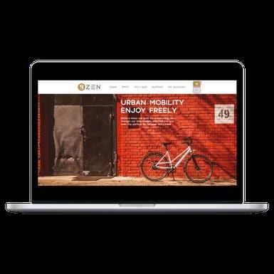 Bzen Bikes | PSD to HTML | OpenCart