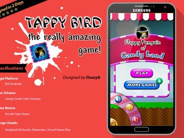 Designed and Developed the Game for both Android and IOS in LibGdx.