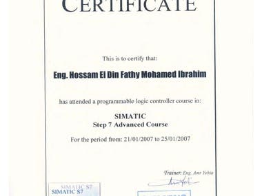 Siemens SIMATIC Advanced Course