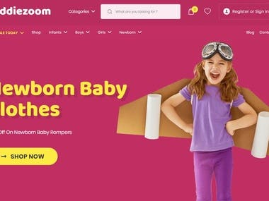 Hello There,  I'm professional WordPress web developer, designer & SEO expert. Currently i'm working on kiddiezoom.pk, which is baby and kids clothing online shopping store.
