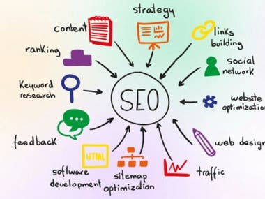 I  will promote your website through ON Page SEO and OFF-Page SEO activities so that I can get ranking improvement and traffic as well.