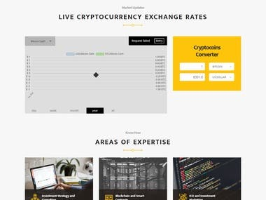 This site is related to crypto currency site based on wordpress. cms Having features are: Buying crypto currency  Selling currency