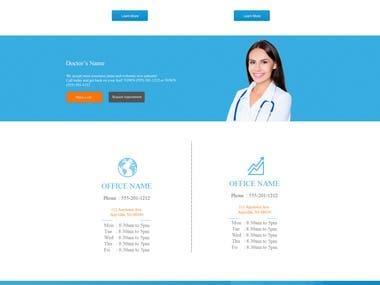 This is Graphic Design for Joomla Website.