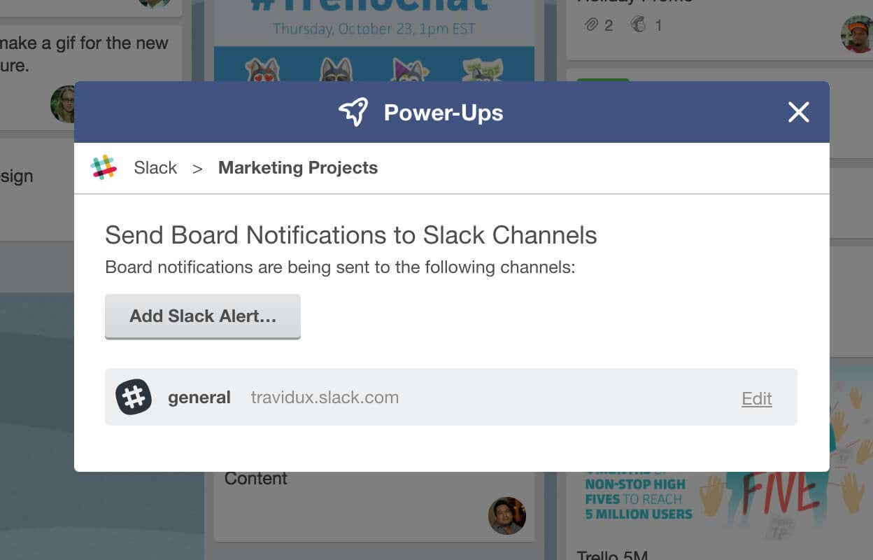 trello slack integration