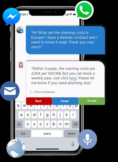 chatbots startup website