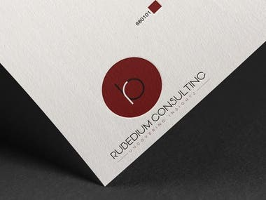 Logo Design for Rubidium Consultants.