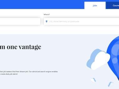 Jobsearch.com.au website Testing