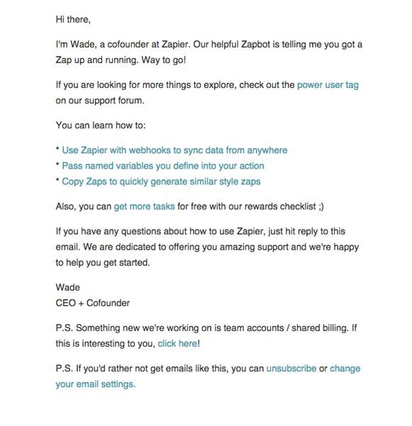 zapier mail