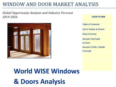 Doors to the World manufactures custom wooden doors and windows, primarily for residential construction. Doors (solid wood, wood/glass or wood/brass) account for 90% of gross sales while wood-frame windows account for 10%. Our products are sold to Global retailers with an increasing portion going to exports. The company started by selling to the new home market in 1988 but in response to changes in the marketplace is now a leading supplier for the up-scale renovation market.Beacuse,Overall discuss this industry is profitability of sector  investment to generate profit and enhance the globalization business. Now trend is change consumer are interest the new Infrastructure development for building and commercial, and offices.