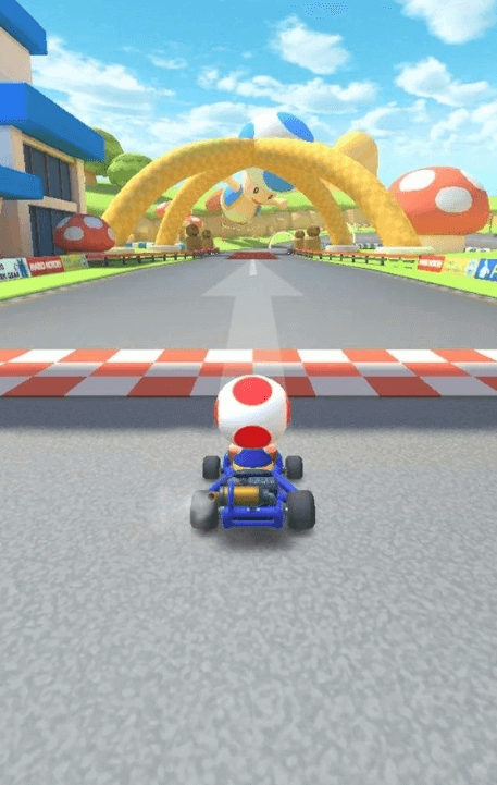 Leaked Mario Kart Tour Screenshot