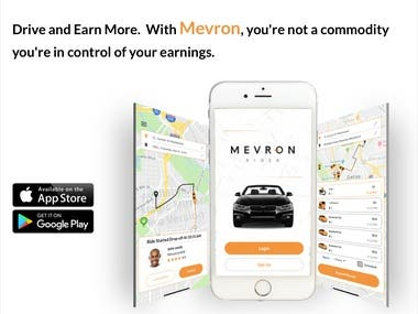 Mevron is the next-generation ridesharing app that raises the bar for rides. Day or night, Mevron's drivers are incentivized to deliver higher quality, safer transportation for passengers that creates a community rich environment for everyone. The Mevron app makes it simple to order a ride, pay with a credit card, and offers the option to pay with cash. Moving cities one passenger at a time, Mevron rides can arrive within minutes of ordering. Across town or across the city, Mevron moves. It's a Mevrolution and you can be part of the excitement. Mevron provides drivers a platform that puts them in control of their earnings through exceptional service, timely arrivals, and a genuine focus on safety and customer service. Ridesharing is getting a facelift.