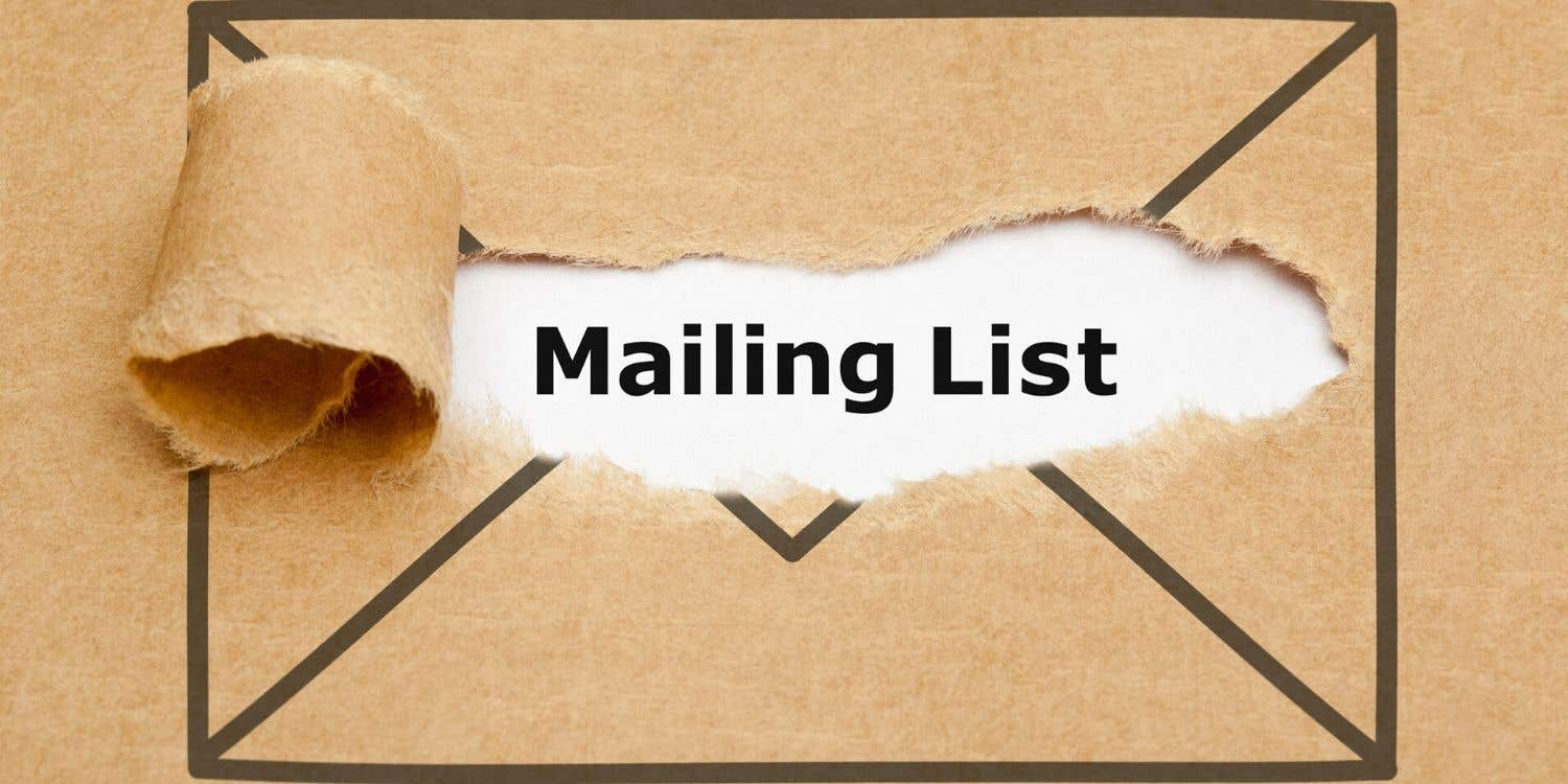 Cover photo for Top tips for building your email subscriber list