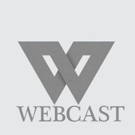 Profile image of webcast