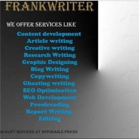 Profile image of frankwriter