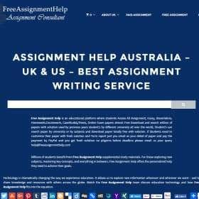 Profile image of freeassignments