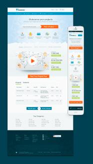 Freelancer homepage design 3