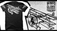 Wings of Glory - tshirt